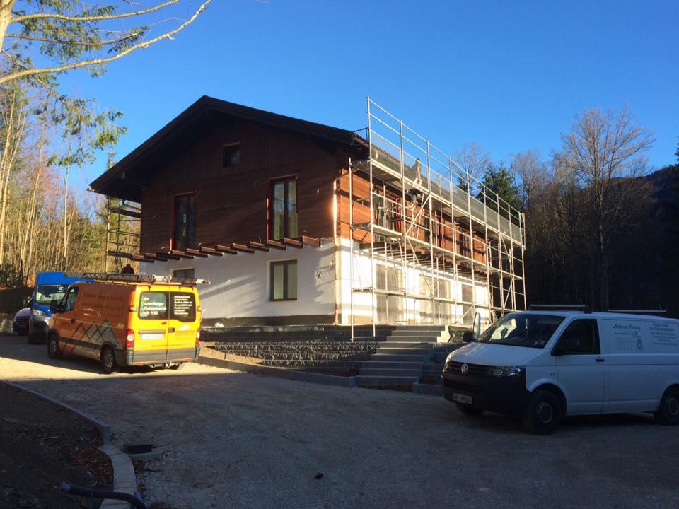 Neubau eines Einfamilienhauses, Grainau